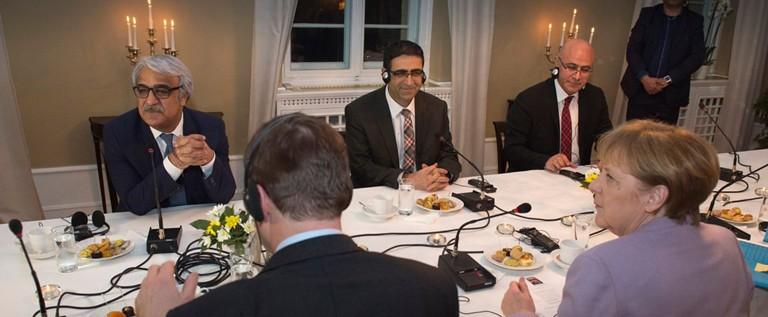 HDP delegation meeting Chancellor Merkel