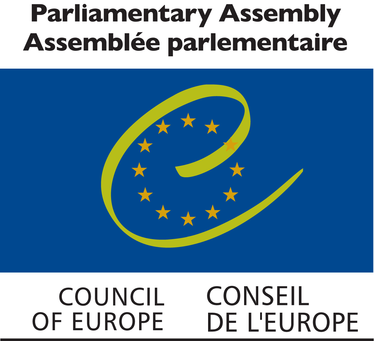 Logo of the Parlamentary assembly Council of Europe