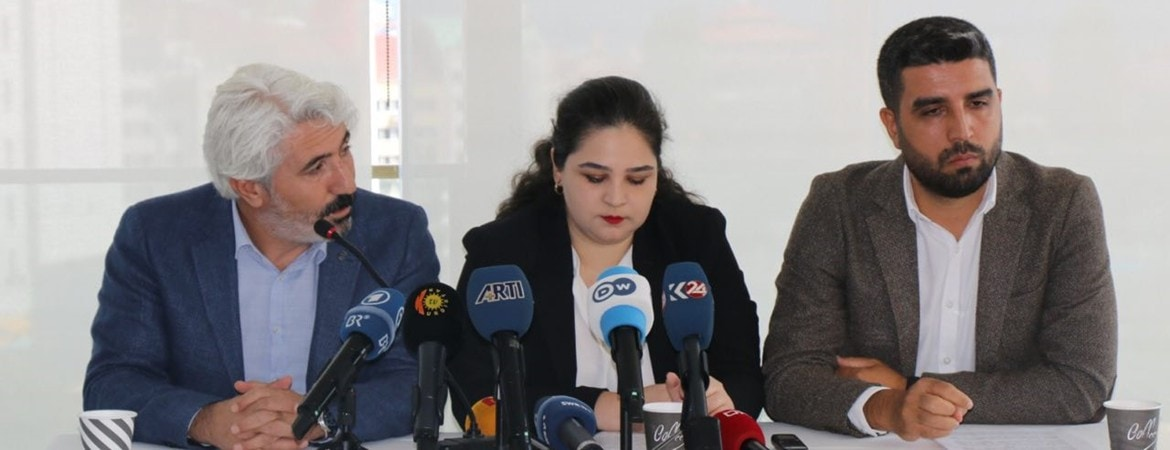 Demirtaş's Lawyers at press conference