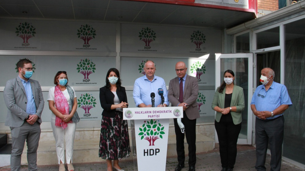 Swedish Left Party delegation and Party Chairman Jonas Sjöstedt visited HDP