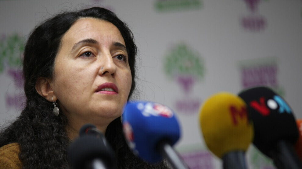 HDP spokeswoman accuses Europe of hypocrisy over sanctions against Turkey