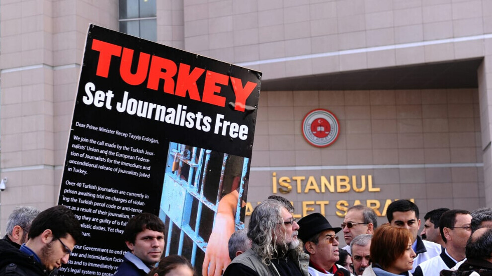 """96 percent of the media in Turkey controlled by the government"""
