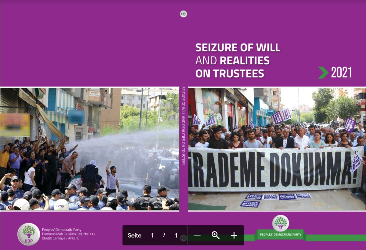 The report: Seizure of will and realities on trustees