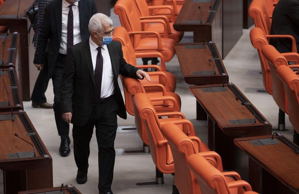 HDP's Ömer Faruk Gergerlioğlu stripped of MP status