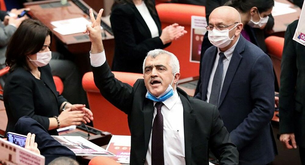 HDP MP Gergerlioğlu arrested – dragged out of his home barefoot, hospitalized, and imprisoned