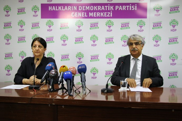 HDP Co-chairs' invitation to Observe the 'Kobani Case'