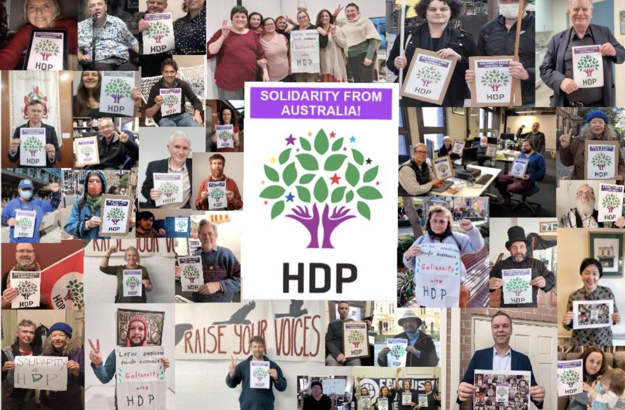 Kobanî trial: #SolidarityWithHDP & #DefendKobani