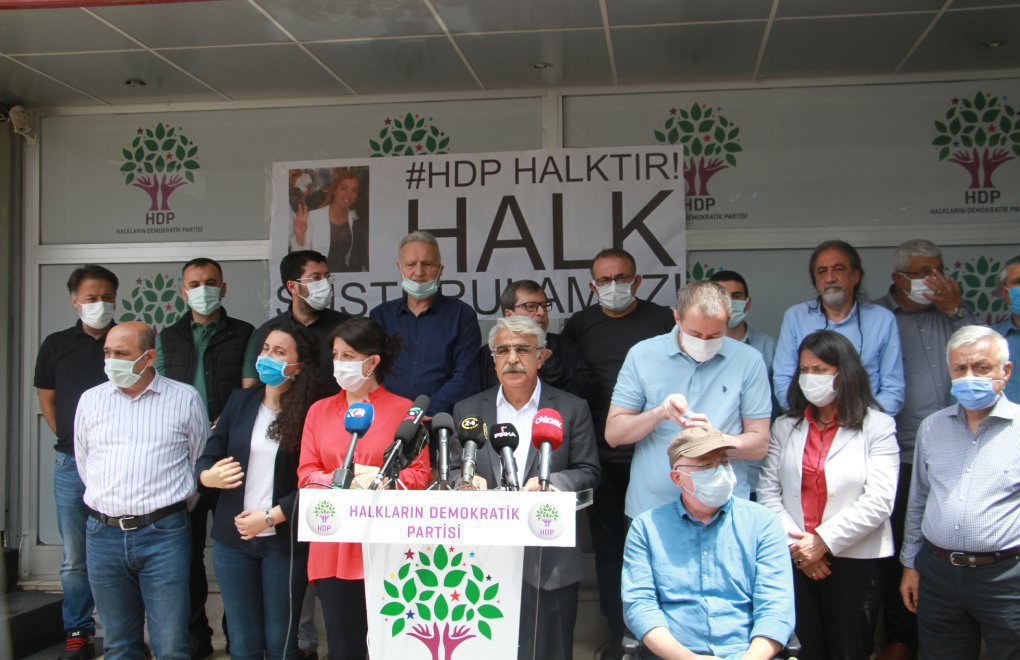 Sancar: 'Indictment of HDP closure case drafted by MHP, finalized by Palace'