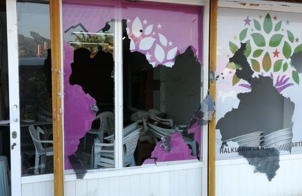 Second armed attack on HDP in a month