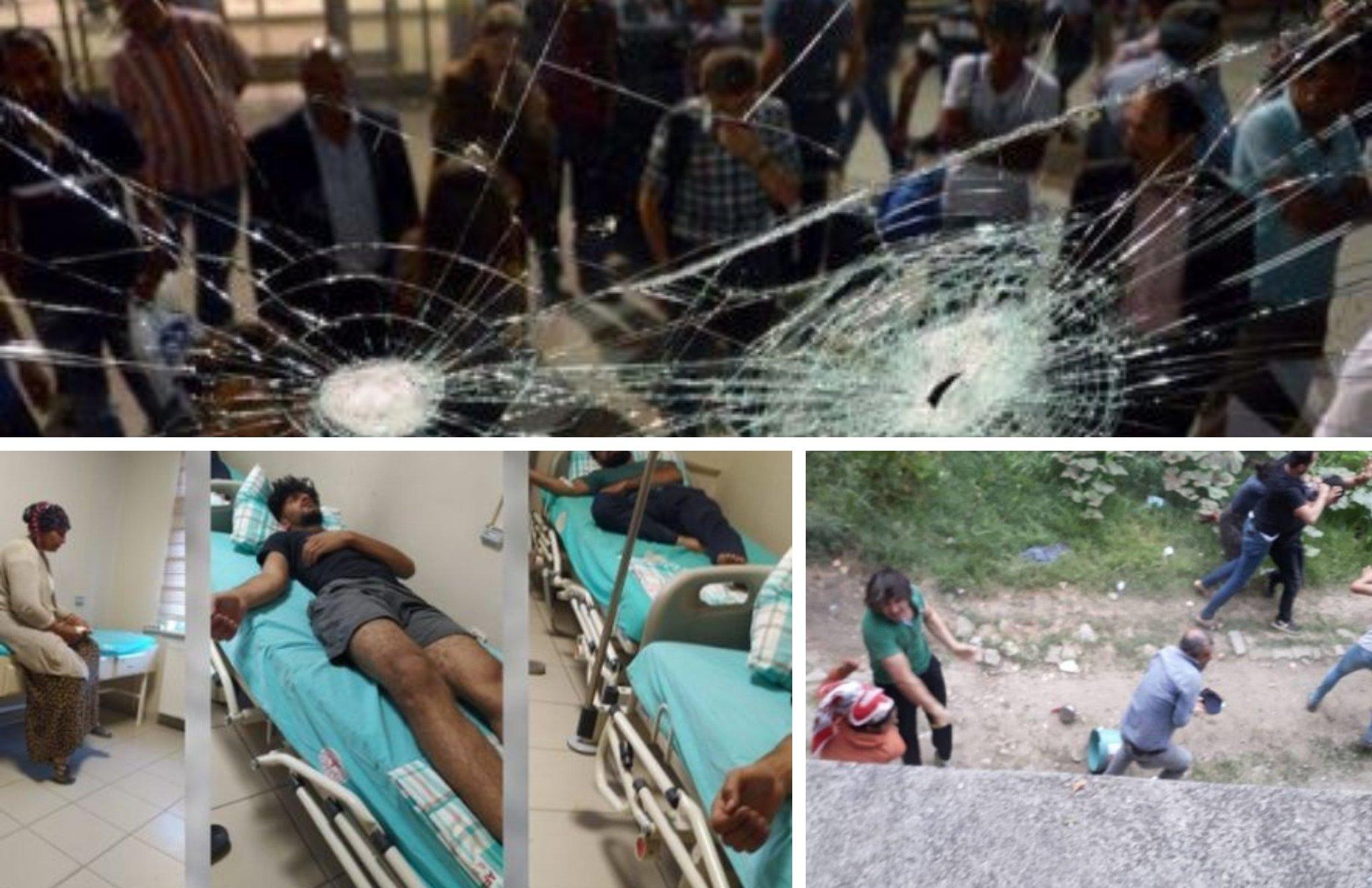 Racist attacks on Kurds in western Turkey