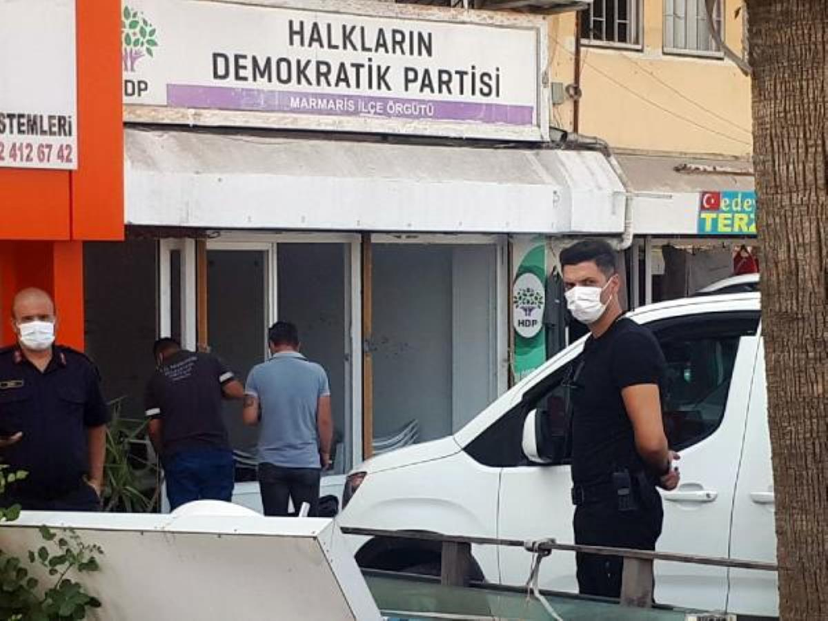 Another armed attack on the HDP; this time in Marmaris district of Muğla