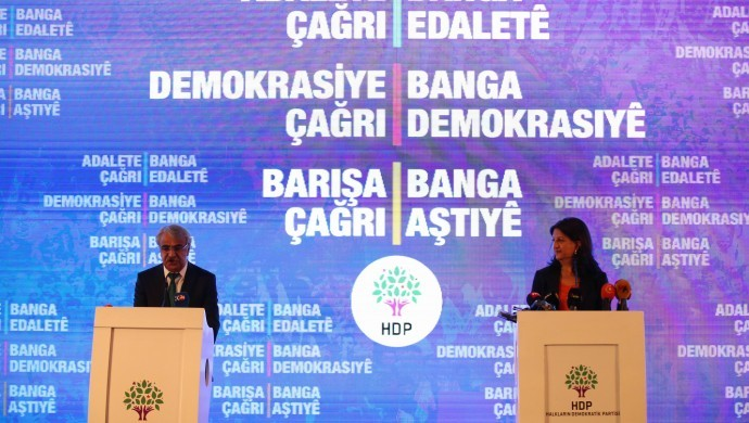 """HDP: """"Let us win together; we call for justice, democracy and peace"""""""